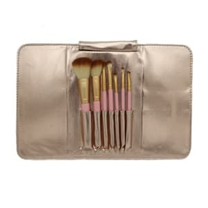 7 pc Brush Set - Gold