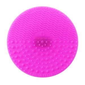 838 Makeup Brush Cleaner Round - Neon Pink