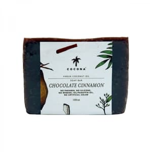 Natural Soap Bar Chocolate Cinnamon