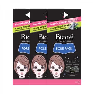 Triple Pack Biore Pore Pack