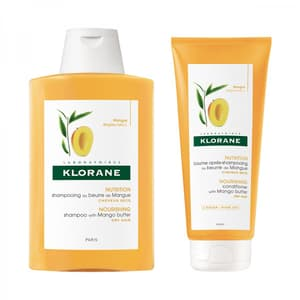 Nourishing Shampoo + Conditioner with Mango Butter Set