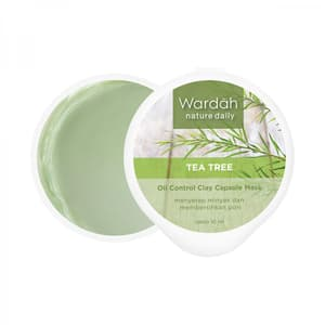 Nature Daily Tea Tree Oil Control Clay Capsule Mask