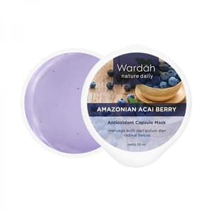Nature Daily Amazonian Acai Berry Antioxidant Capsule Mask